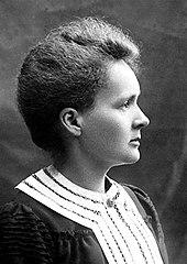 Curie en 1903