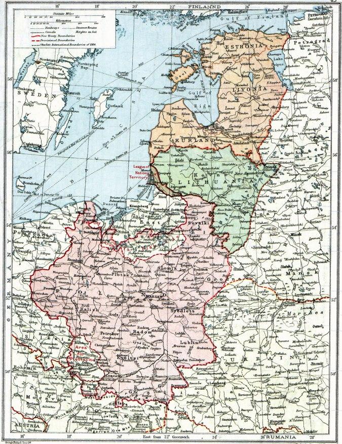 Polonia y los nuevos estados Bálticos