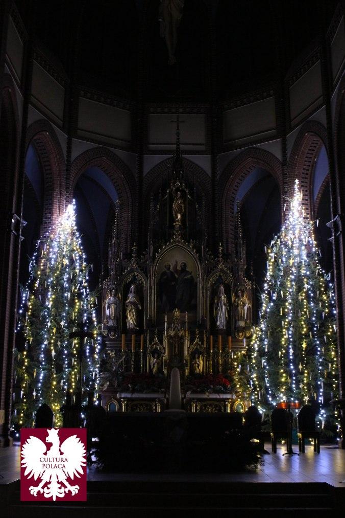 Catedral de Gliwice en Wigilia